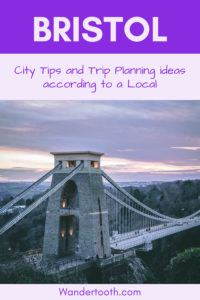 Pin this Best Things to do in Bristol England travel guide