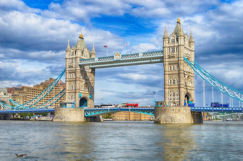 Tower bridge in London is one of the top things to see in London