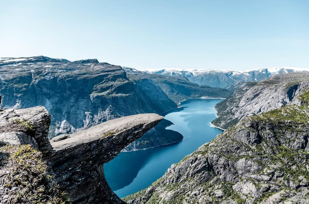 Trolltunga is another Norway best hike