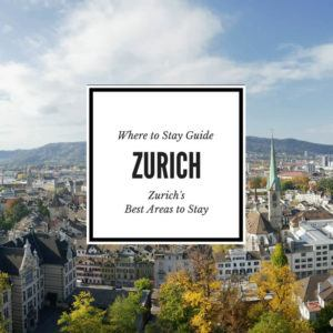 Zurich Where to Stay Guide Feature Image
