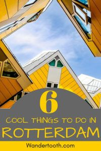 Planning a trip to the Netherlands? This Rotterdam travel guide features 6 cool things to do in Rotterdam - everything you need for a perfect introduction to Amsterdam's hipper sister city! Explore Rotterdam's architecture, street art, dining scene, and take a windmill day trip!