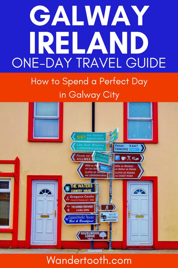 Planning a trip to Galway City Ireland? This Galway travel guide includes everything you need to spend 1 day in Galway. Includes the best things to do in Galway, where to eat in Galway, and fun activities to stay busy. Click to plan your Galway trip! #galway #ireland #galwaycity #galwayfood #galwaytravel #travel #europe