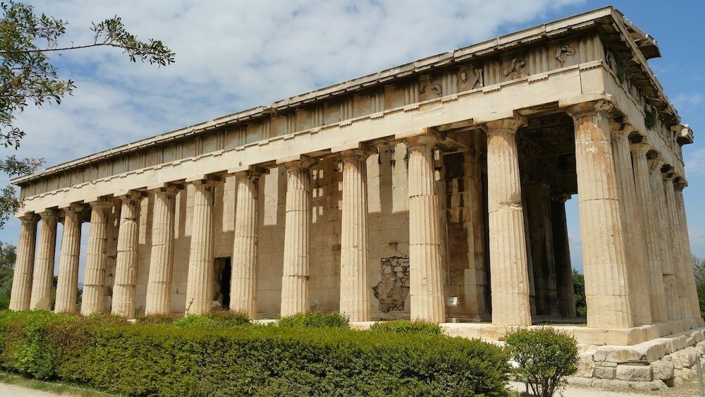 Must see in Athens, the Ancient Agora is one of the best sights to see in Athens