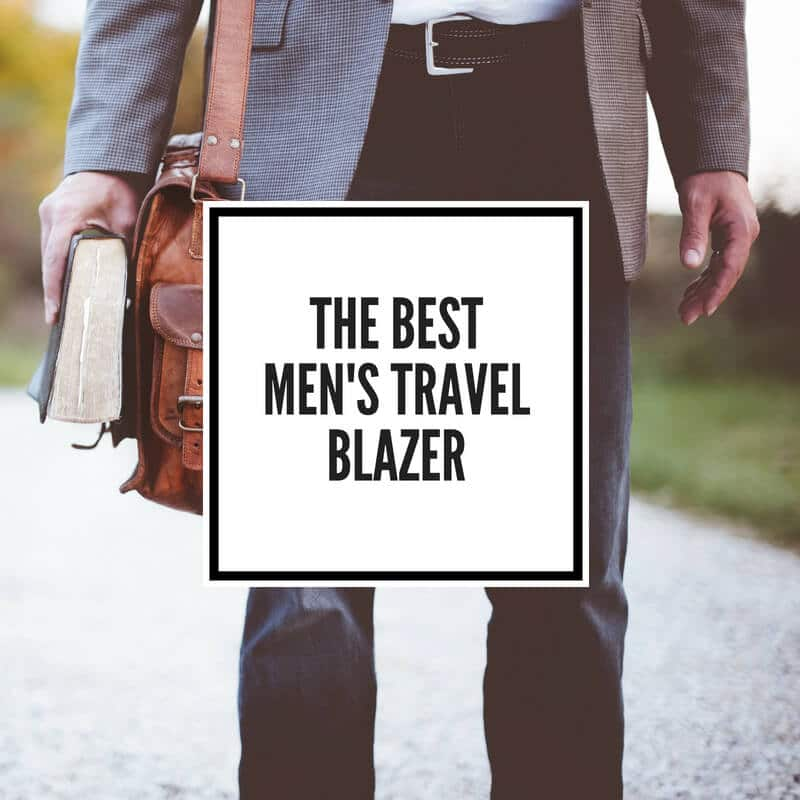best travel blazers for men