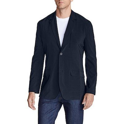 mens lightweight travel blazer