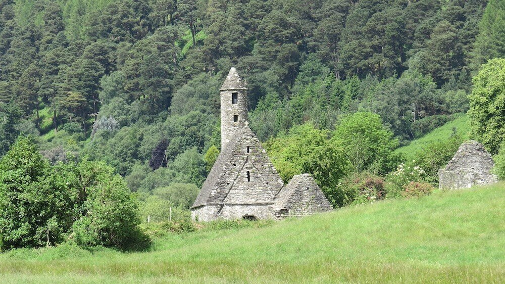 See Glendalough church on your Wicklow Mountains Tour