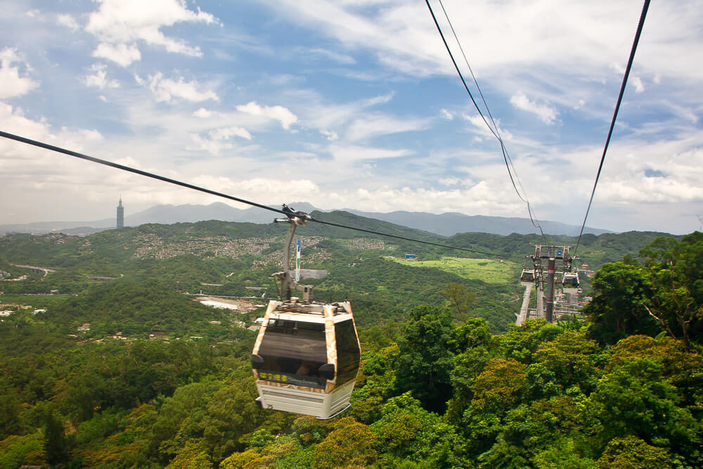 3 days in Taipei take the Maokong gondola