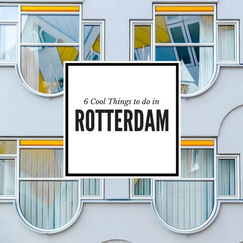 Cool Things to Do in Rotterdam travel guide