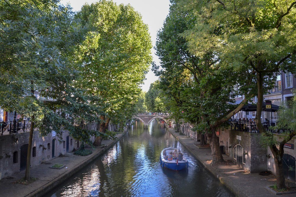 Of all the places to visit in Utrecht you'll never be far from a lovely canal