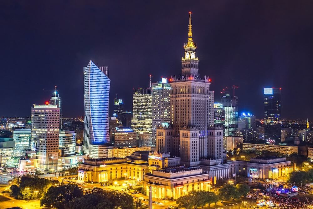 Where to Stay in Warsaw best areas to stay