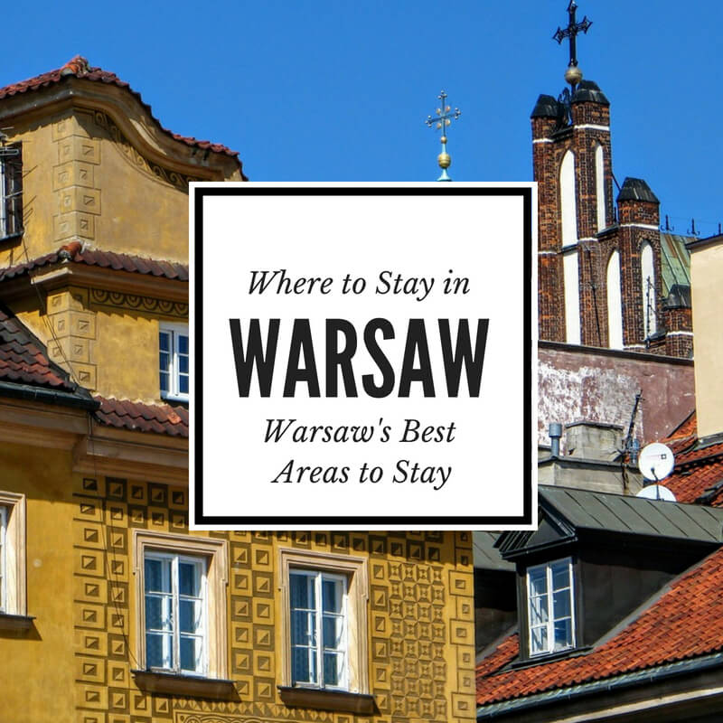 Find the best places to stay in Warsaw