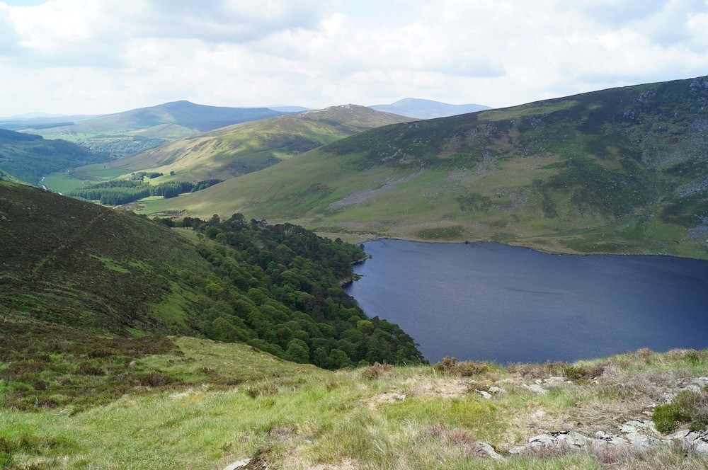 Take a Wicklow Mountains from Dublin