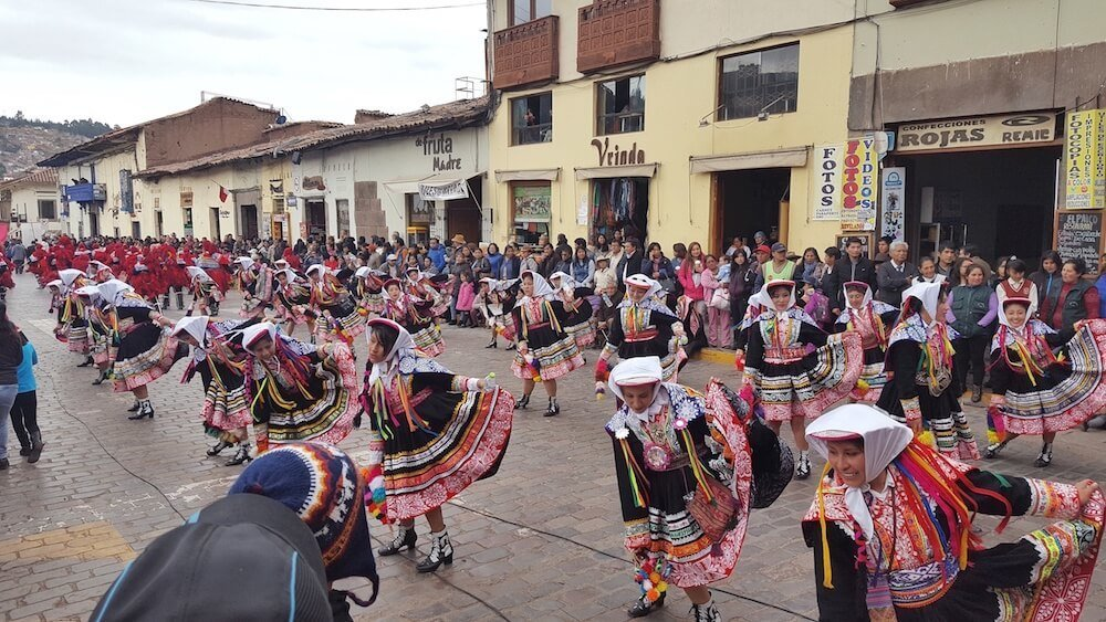 Experience many festivals when you visit cusco