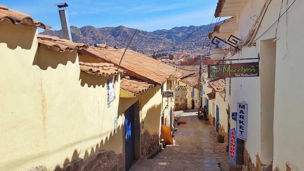 Explore the old streets when you visit cusco