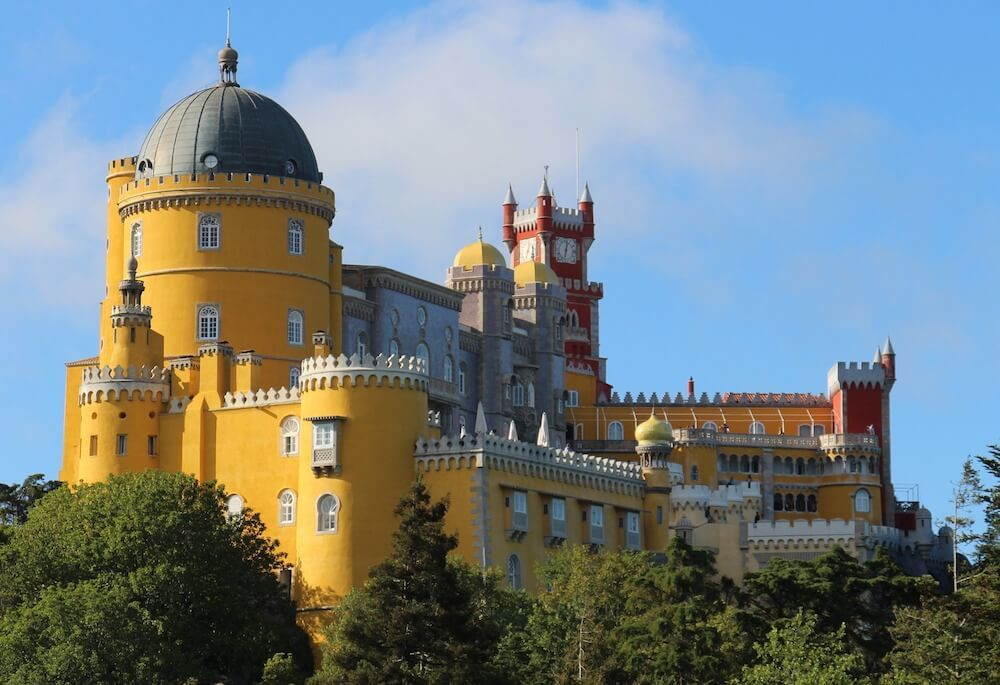 a day in Sintra is easy as a day trip from Lisbon