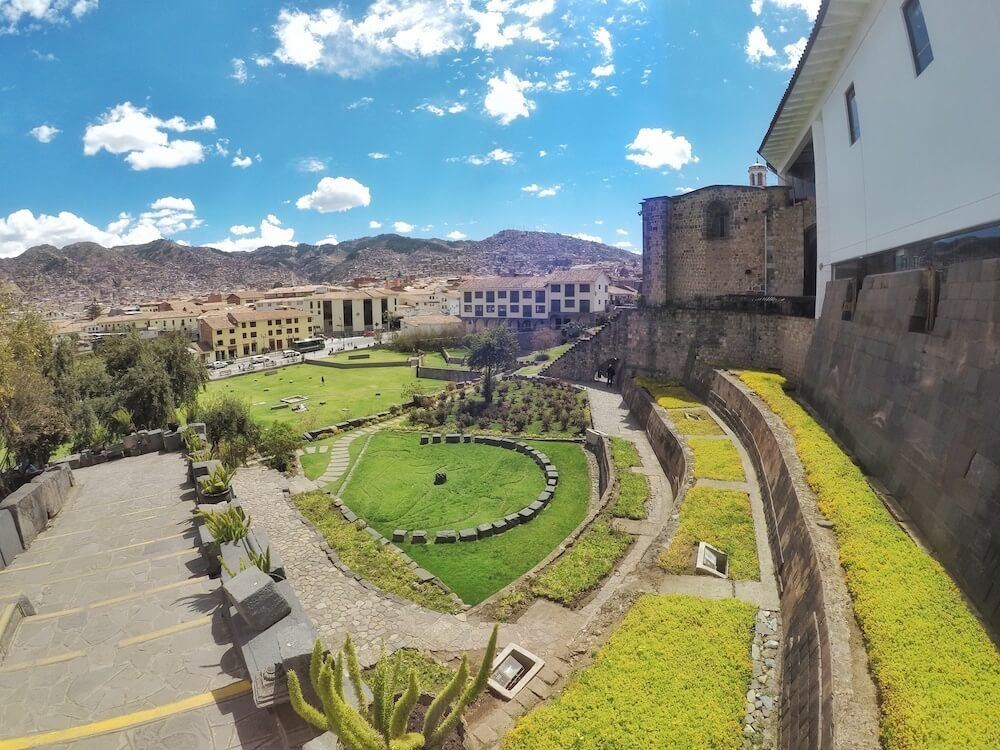 Explore ancient ruins when you visit Cusco