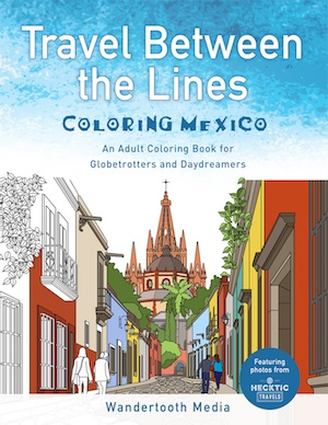 best Adult coloring book for travel mexico