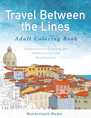 best Adult coloring book for travel