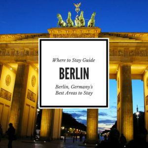 Where to Stay in Berlin Guide, a guide to the best areas to stay in Berlin