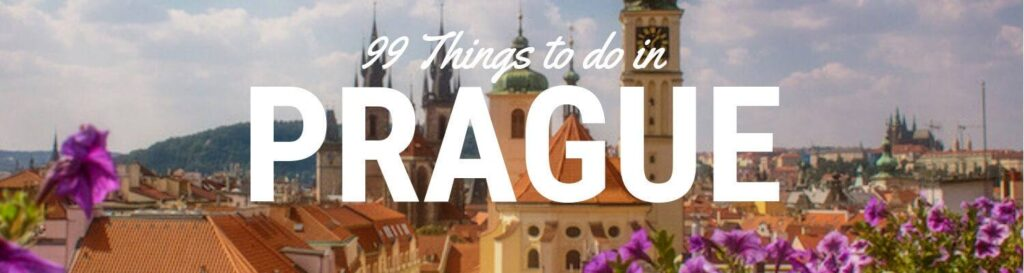 99 things to do in prague