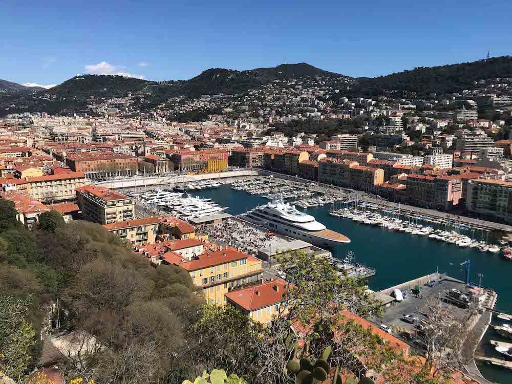 A view of Nice France
