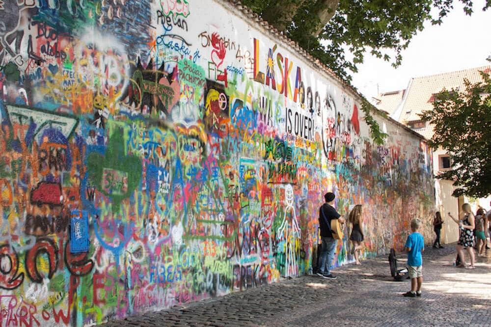 John Lennon Wall Mala Strana Prague