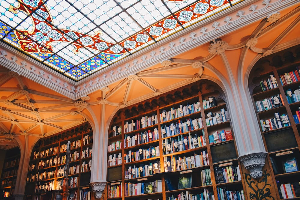 Visit the Livraria Lello on of the best things to do in Porto Portugal during your 2 Days in Porto Portugal