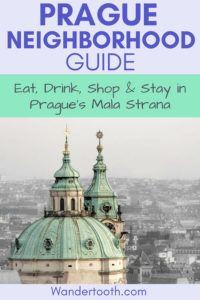 Pin this Mala Strana Prague Neighborhood guide