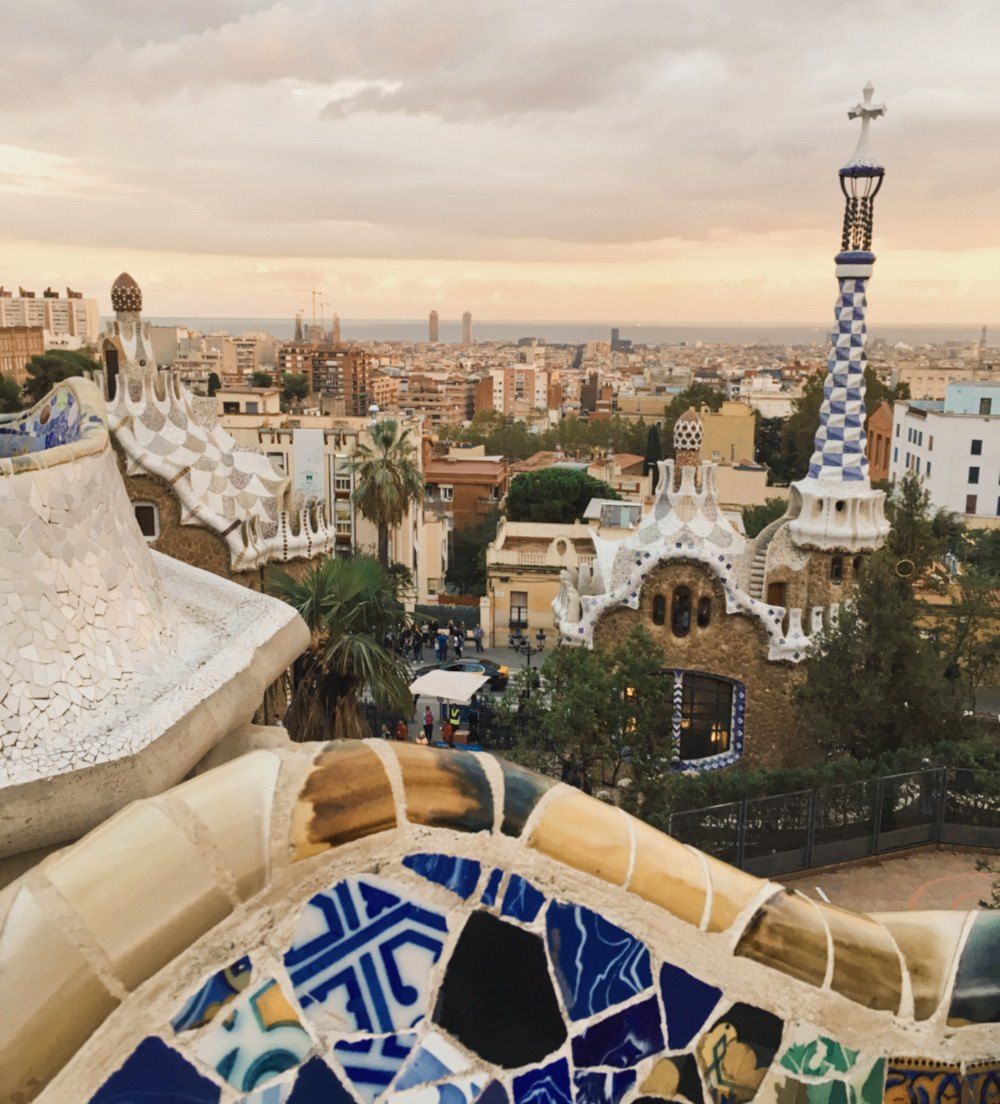 See Park Guell Barcelona when you visit Barcelona