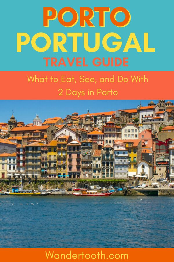 Planning a Portugal holiday? Click to read our 2 Days in Porto guide all about Portugal's dynamic and colorful city. Fantastic food and drinks, history, architecture, culture and more - it's perfect for a city break and a must visit on any Portugal vacation. #Portugal #Porto #Travel #Holiday #CityBreak #Europe