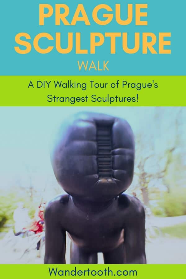 A DIY Prague Sculpture Walk: Get beyond Prague's most popular tourist sites with this one-day, self-guided walking tour…with a twist. Experience a stranger side of Prague and visit 12 of Prague's most head-scratching, fascinating, and moving sculptures. Follow the walking tour using the free Trover app, and plan your own unique Prague itinerary for your trip!