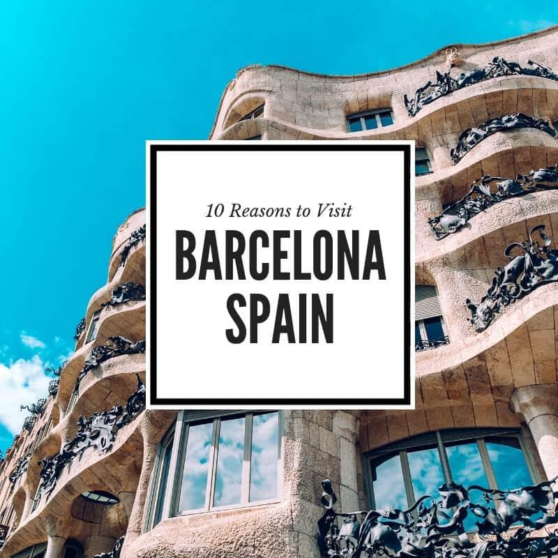 Ten great reasons to visit Barcelona