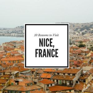 Reasons to visit Nice France