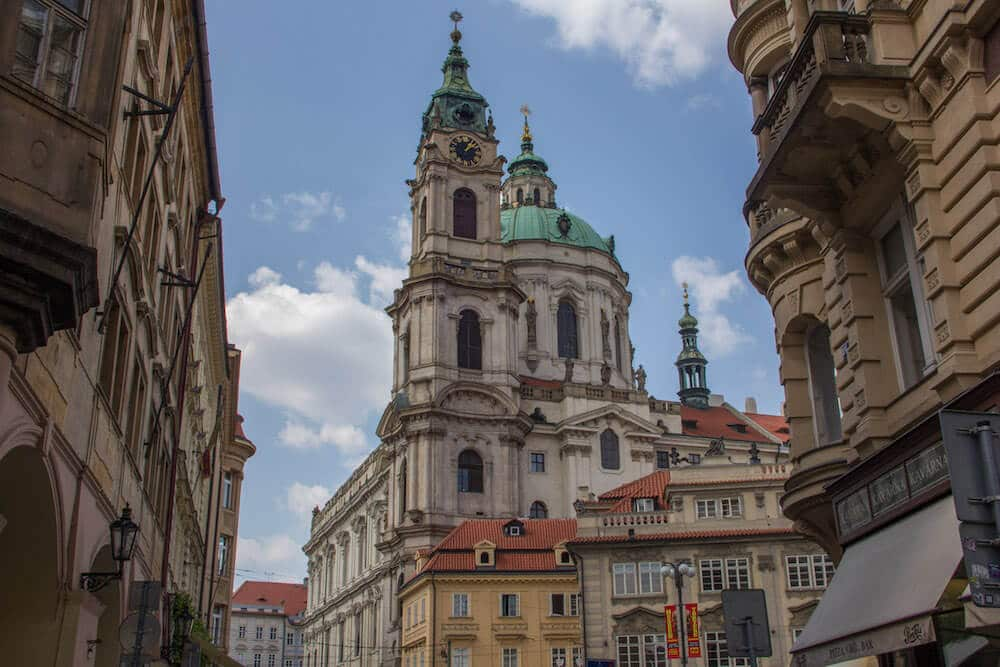 St Nicholas Church in Mala Strana Prague