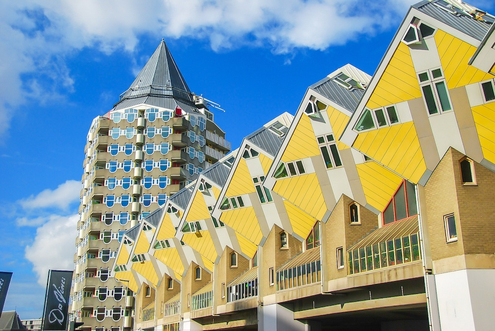 Visiting the cube houses is one of the best things to do in Rotterdam