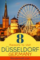 Planning a trip to Germany? Find out 8 reason you should include Dusseldorf on your itinerary! If you're considering visiting Dusseldorf and asking yourself, Is Dusseldorf Worth Visiting, find out why locals love their city, the river, the amazing architecture, and the best places to visit in Dusseldorf for your Germany holiday! Click to Read! #Dusseldorf #Germany #DayTrip #Europe #Travel