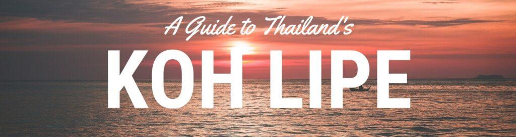 Koh Lipe Thailand what to do in Koh Lipe