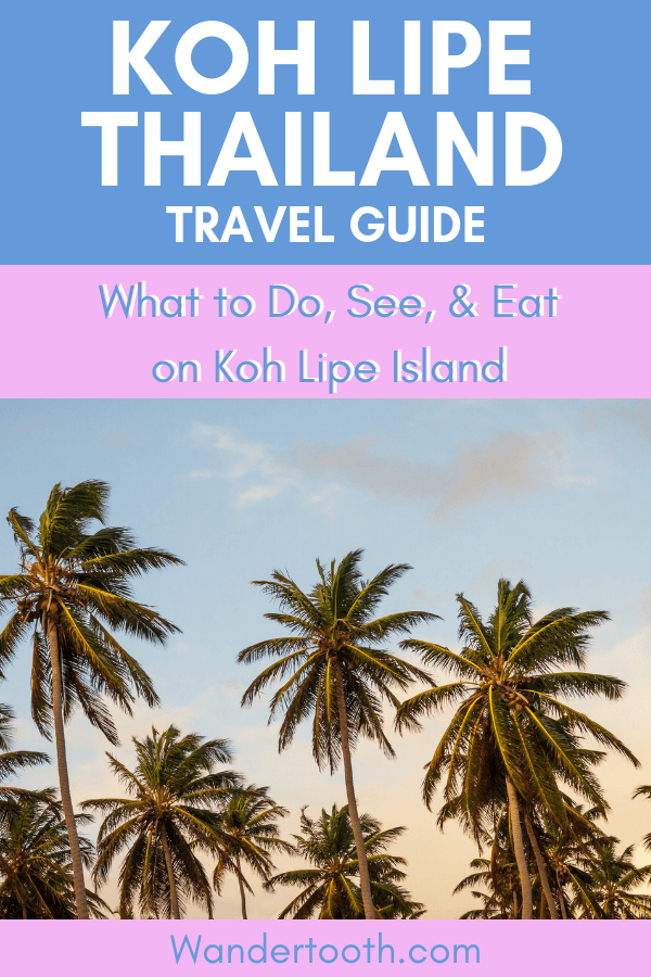 Planning a trip to Thailand and Looking for pristine sandy beaches and a tranquil island? Look no further than Koh Lipe Thailand! Whether its diving, snorkelling, or simply relaxing on the beach, Koh Lipe is the perfect island away from the party spots and the bustle of big cities. Here's everything you need to know about visiting Koh Lipe Thailand on your next holiday! Click to Read! #KohLipe #Kolipe #Thailand #Asia #Travel