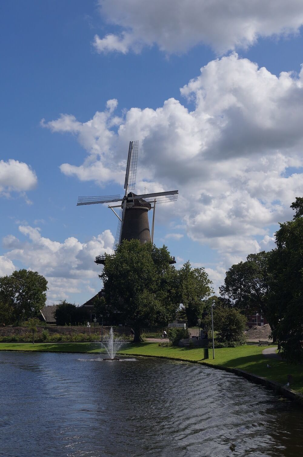 Leiden Netherlands Windmill