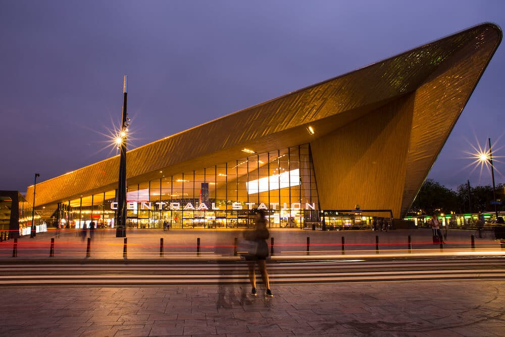 Photos of Rotterdam Central Station