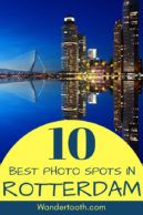 Including Rotterdam on your trip to the Netherlands? This Rotterdam guide features 10 places to get the best photos of Rotterdam - everything you need for a perfect photo of Netherland's second biggest city! Explore Rotterdam's architecture from quirky to uber modern, street art, and more! #Rotterdam #Netherlands #Europe #architecture #thingstodo #travel #cityguide