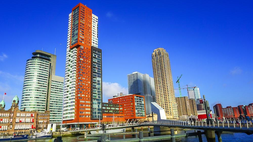 Rotterdam best views Wilhelmina Pier