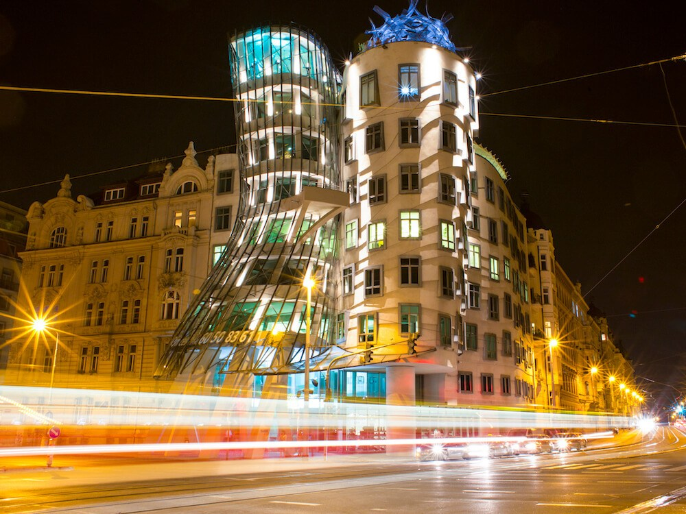 The dancing house where to stay in Prague New Town