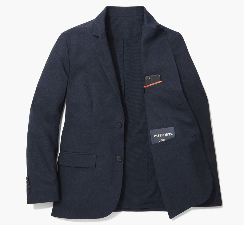 Men's travel blazer Bluffworks Gramercy