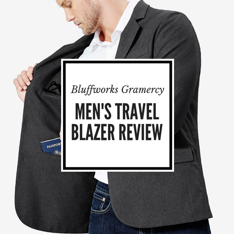 Men's travel blazer Bluffworks Gramercy