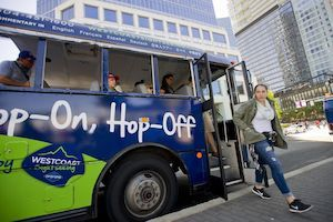 Where to stay in vancouver Hop on Hop off bus