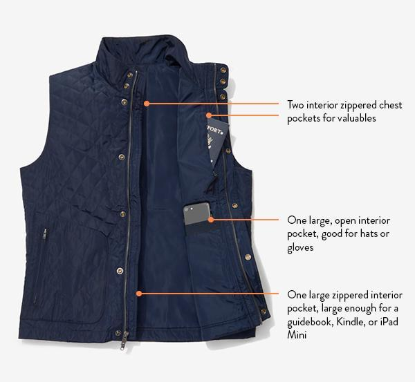 mens travel vest best men's travel vest with hidden pockets