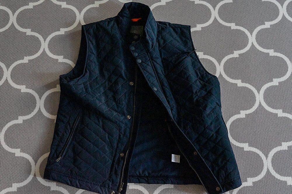 mens travel vest best men's travel vest with hidden pockets
