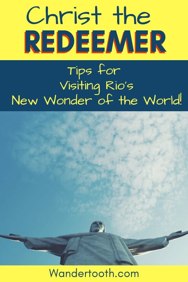 Heading to Rio de Janeiro? We've pulled together our best tips for visiting one of Rio's top attractions: The Christ the Redeemer Statue. #Rio #travel