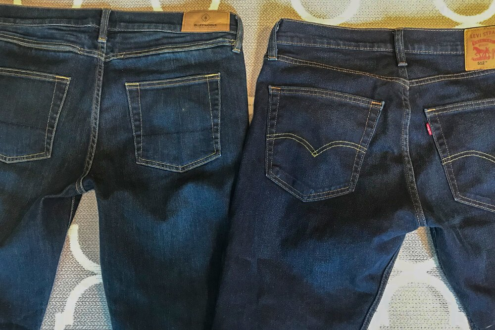 lightweight jeans for travel